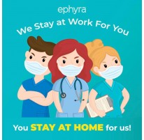 We Stay At Work For You, You Stay At Home For Us
