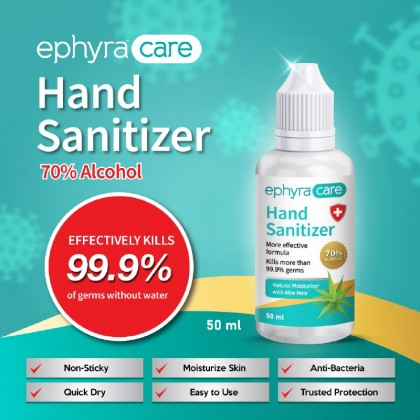 Ephyra Care Hand Sanitizer (50ml)