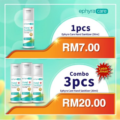 Ephyra Care Hand Sanitizer (30ml)