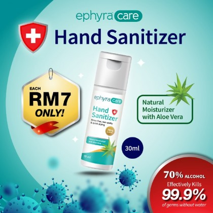 [Combo 3pcs] Ephyra Care Hand Sanitizer (30ml)