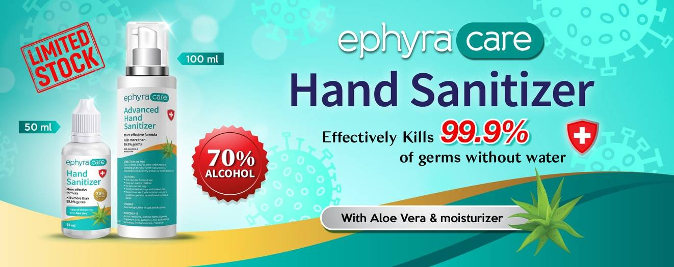 Ephyra Care Hand Sanitizer