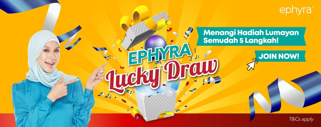Ephyra Lucky Draw!